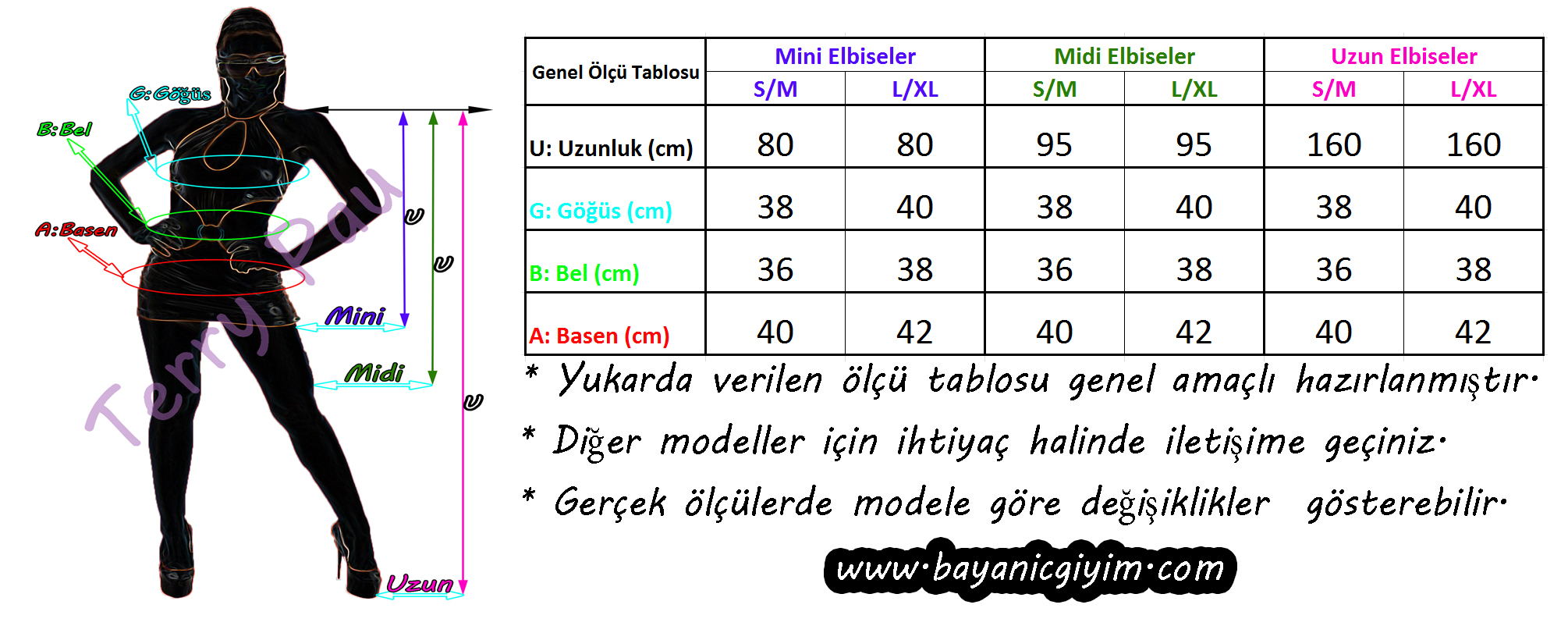 Ölçü Table